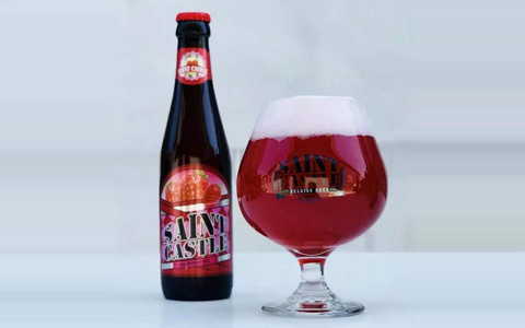 【�l�F美酒】圣堡草莓啤酒