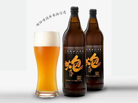 炮啤先森工坊精�白啤酒,回�w啤酒本�淼奈兜�