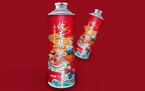 【发现美酒】佐麦精酿啤酒国潮装,神仙聚会,只为求醉~