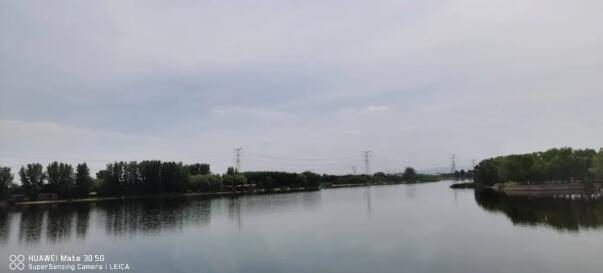 青台遗址毗邻的唐岗水库