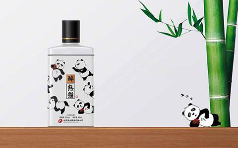 【發現美酒】醉熊貓酒52度500ml