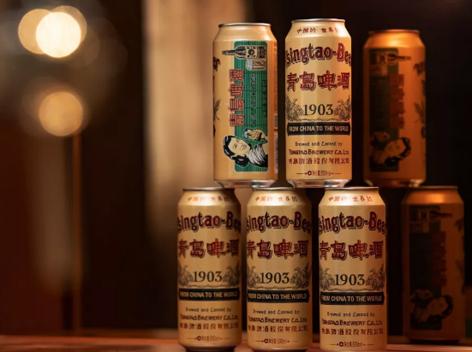 青岛啤酒新品1903国潮罐,已同步在各大商超上市!
