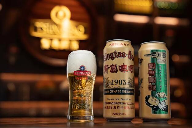 青岛啤酒新品1903国潮罐