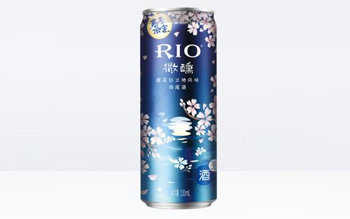 RIO微醺樱花风味,高颜值,很少女!