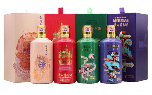 贵州茅台纪念酒,贵州茅台酒走进四国系列酒怎么样?