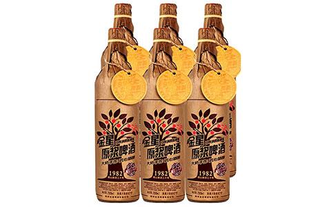 【发现美酒】金星原浆啤酒1982  简约大方的啤酒