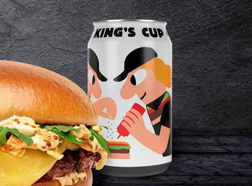 汉堡王与美奇乐合作无醇啤酒