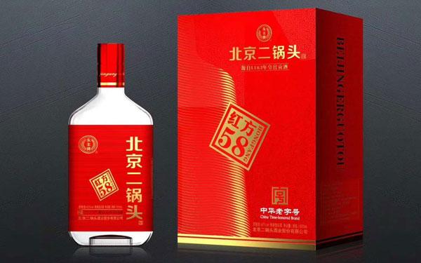 【发现美酒】永丰牌北京二锅头酒红方58