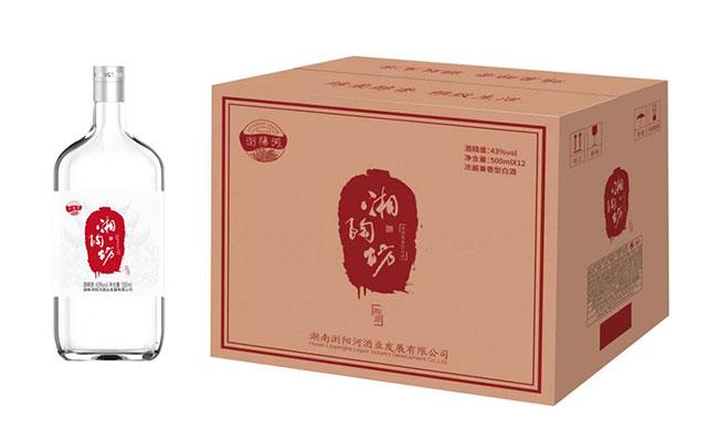 浏阳河湘陶坊酒陶源500ml
