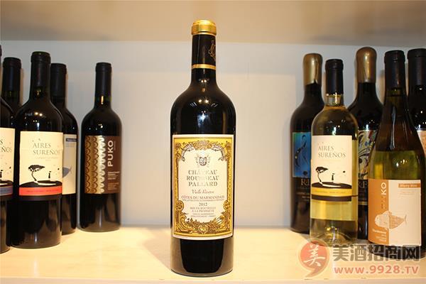 法国马芒德梅洛阿布修卢梭庄园AOC红葡萄酒