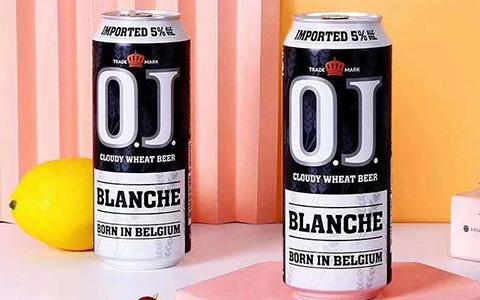 【�l�F美酒】比利�rO.J小��精�白啤(柑橘味)