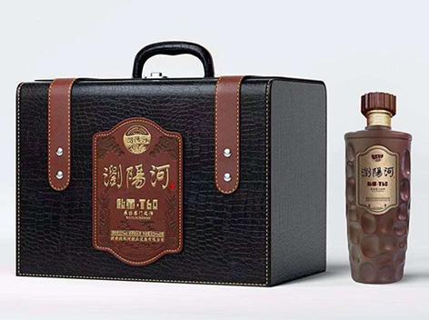浏阳河酒私藏T60新品上市,超级豪华大皮箱包装,送礼上选!