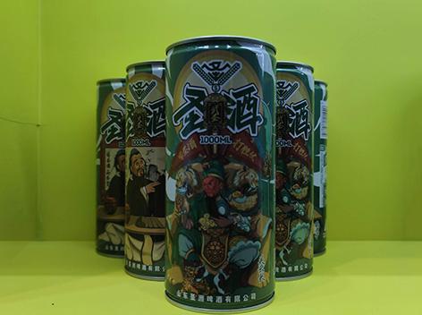 圣酒精酿啤酒武圣啤酒火热上市中,个性新潮,口感佳品!