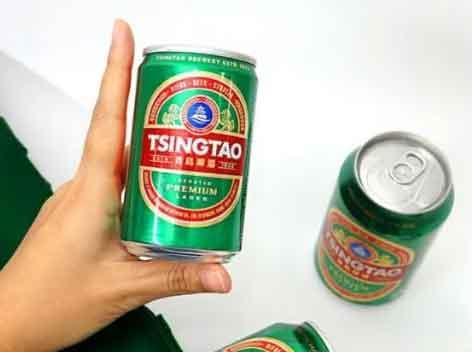 青岛啤酒迷你罐200ml在韩上市