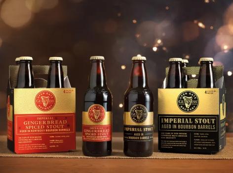 健力士黑啤新品加香料的姜饼黑啤&帝国黑啤