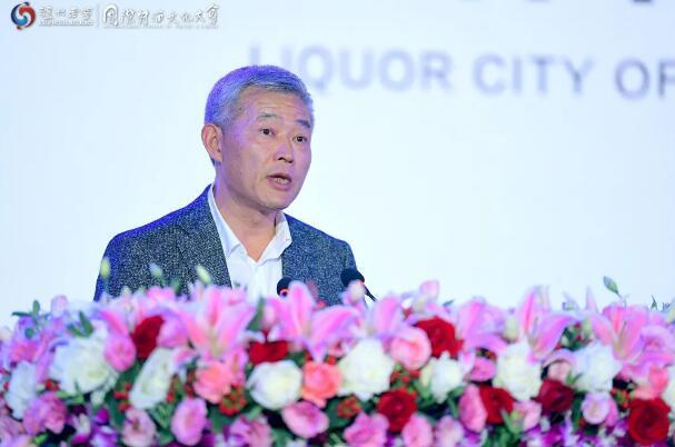 宣传部部长刘云发表致辞