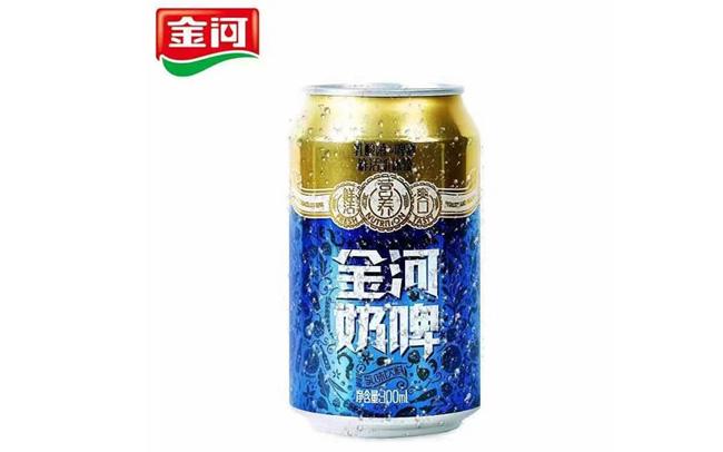 """【发现美酒】金河奶啤,当啤酒遇见乳酸菌,""""奶""""气十足~"""
