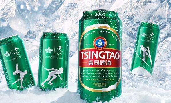 青�u啤酒北京2022年冬�W��冰雪罐