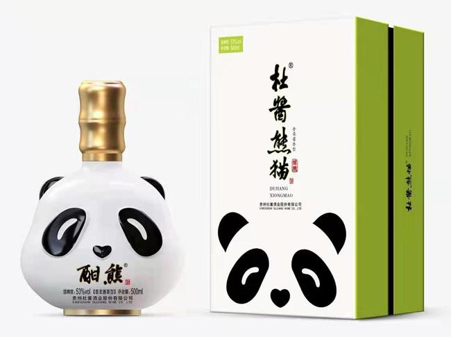 杜酱酣熊(礼盒版)即将上市,精品酱酒,敬请期待!