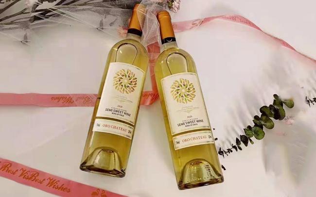 【发现美酒】智利进口 欧洛酒庄羽毛半甜白葡萄酒