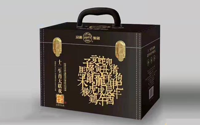 【發現美酒】汾酒集團清香世家十二生肖大聯歡酒,收藏價值頗高