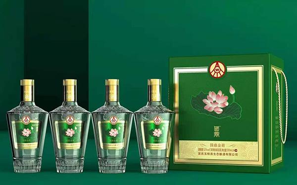 【发现美酒】国鼎荷花酒·国鼎金荷,礼盒装,送礼必备