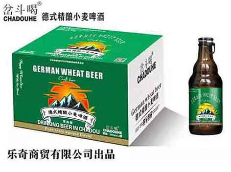 岔斗喝德式小麦精酿啤酒新品上市啦,火热招商中!