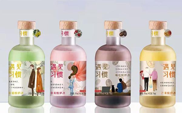【�l�F美酒】遇���T果味酸奶酒