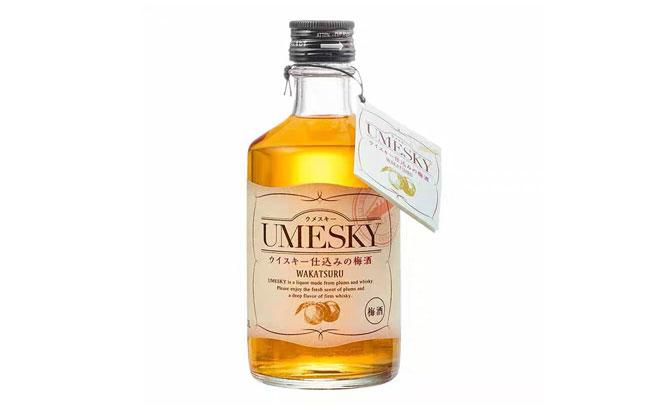 【發現美酒】日本進口若鶴青梅酒,24度威士忌梅酒