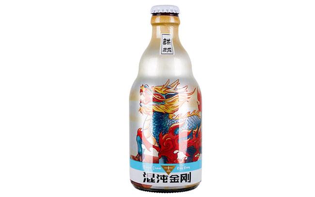 【发现美酒】混沌金刚精酿啤酒-麒麟,网红小麦白啤酒