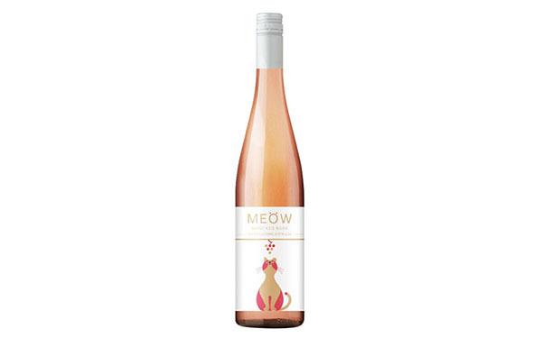 【发现美酒】粉猫澳洲莫斯卡托桃红起泡酒,给爱猫人士的起泡酒