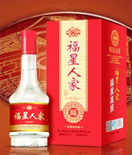 �m合�l��r村的婚宴白酒,大品牌的中低端盒�b酒