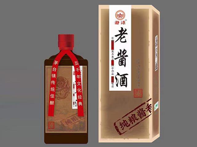 瀞源老醬酒53度500ml