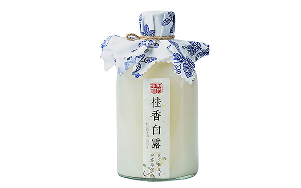 【�l�F美酒】��花吟桂香白露桂花酒,米香�c桂香的巧妙融合