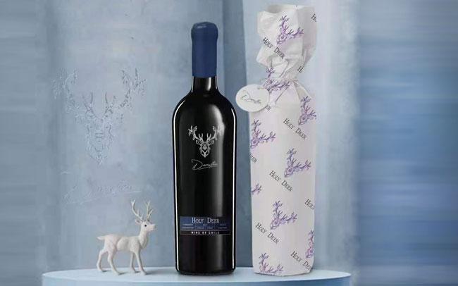 【�l�F美酒】智利�M口�t酒 圣之鹿珍藏赤霞珠干�t葡萄酒