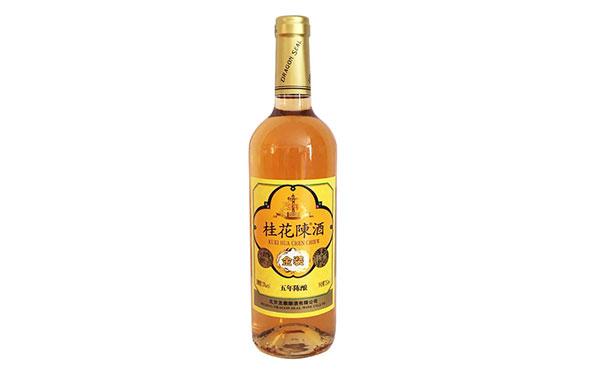 【�l�F美酒】桂花�酒五年��,中�A牌北京桂花酒