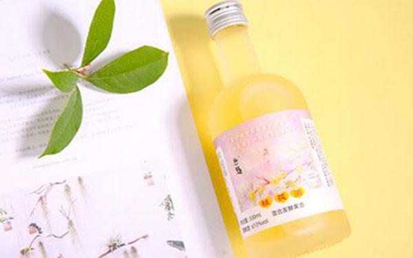 【�l�F美酒】恩楚桂花酒,低度微醺花果酒