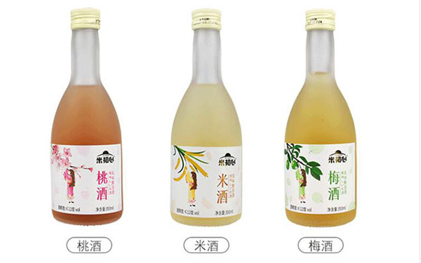 【�l�F美酒】米初心水果酒,低度甜酒