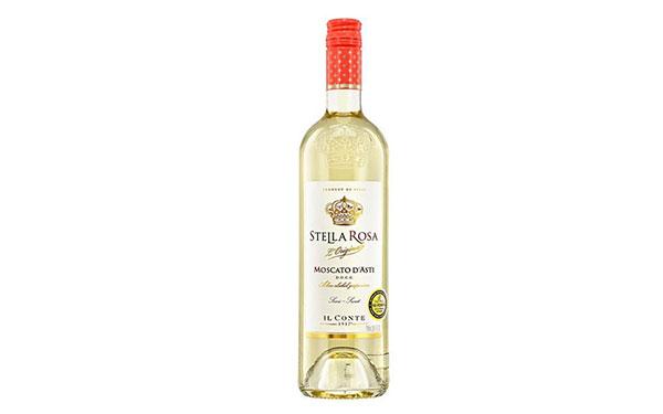 【�l�F美酒】星空玫瑰莫斯卡托阿斯蒂起泡酒,意大利低泡白葡萄酒