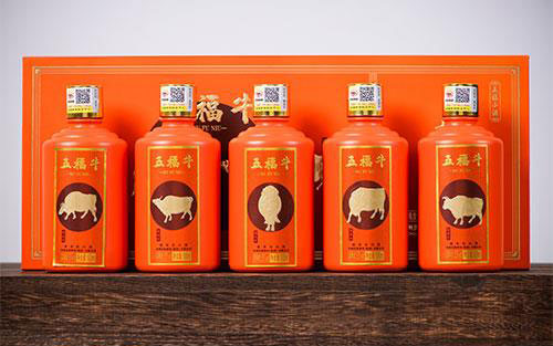 【�l�F美酒】五福牛酒,高端大��,牛��_天