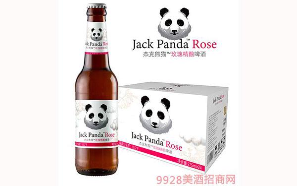 【�l�F美酒】杰克熊�玫瑰精�小��啤酒