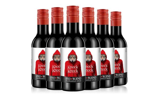 【发现美酒】西班牙进口 奥太狼干红 网红小瓶酒