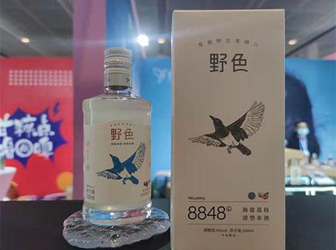新酒上市,野色米酒,2021天津糖酒会热门产品
