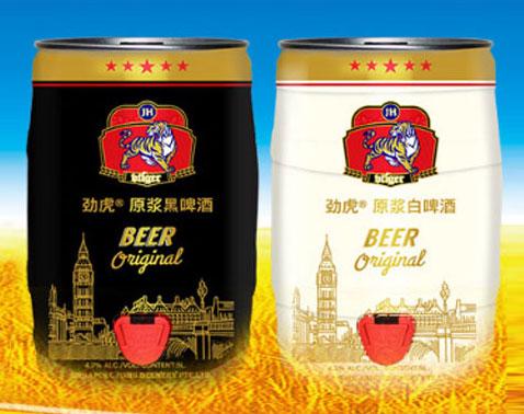 新加坡劲虎原浆啤酒
