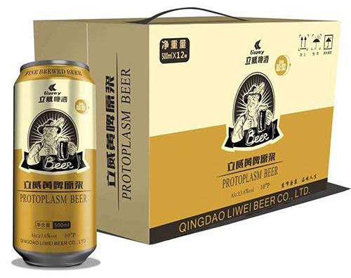 立威原浆啤酒