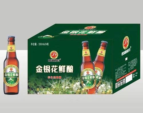金银花精酿啤酒