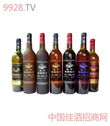 双叶猕猴桃酒瓶装系列酒