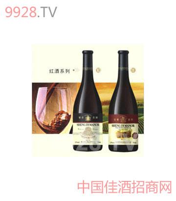 高雅红酒背景素材