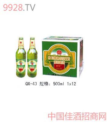 QX-43-青轩新新品啤酒