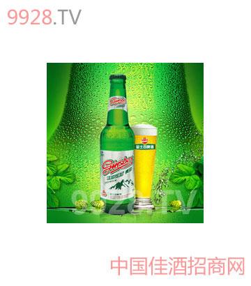 金士百亮彩啤酒